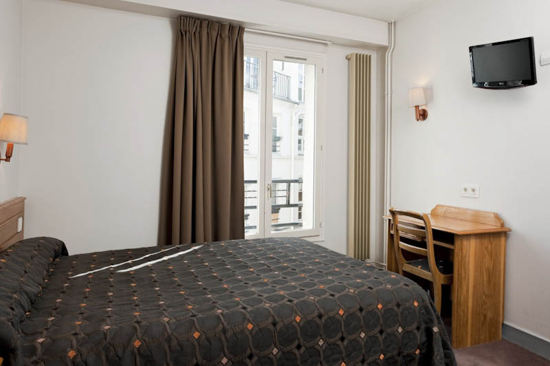 Chambre double hotel Americain