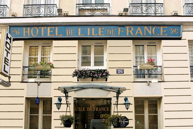 Hotel ile de france opera sur h tel paris for Hotel en amoureux ile de france