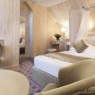 Chambre deluxe hotel Residence Foch