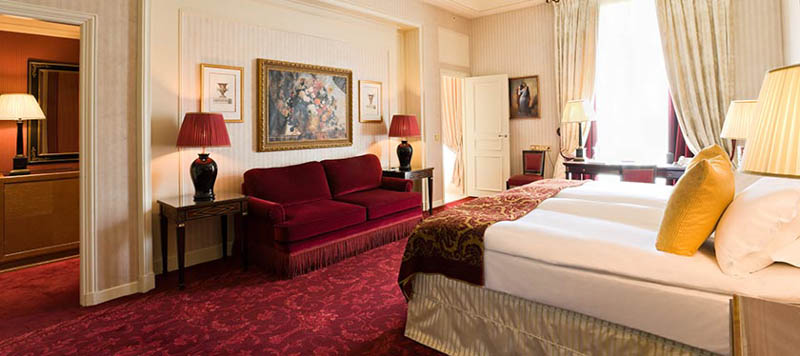 Junior suite hotel Intercontinental Paris Le Grand