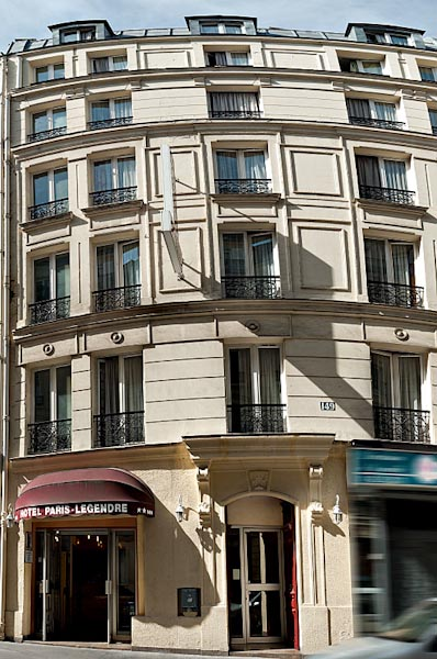 Exterieur Hotel Paris Legendre
