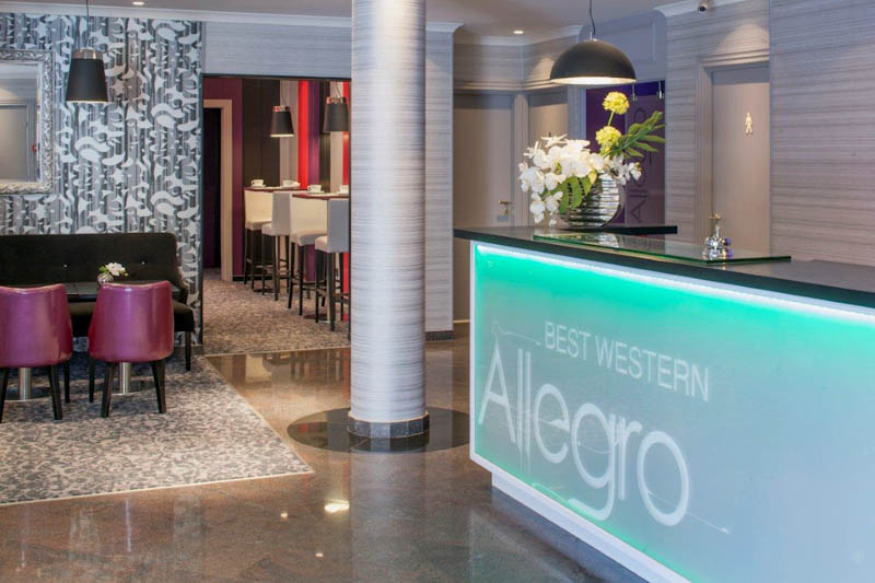 Reception hotel Allegro