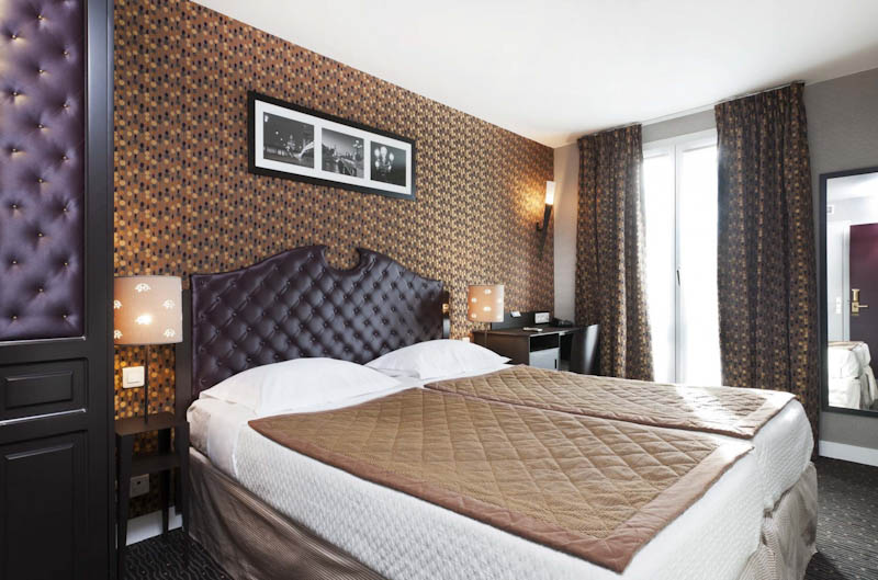 Chambre Hotel Prince Eugene