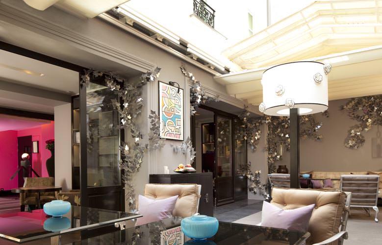 Hotel les jardins de la villa sur h tel paris for Les jardins de la villa spa paris france