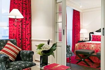 Suite traditionnelle Hotel Keppler
