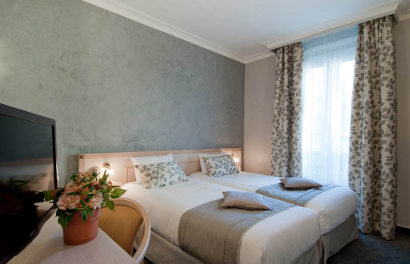 Chambre standard Hotel Champerret Elysees