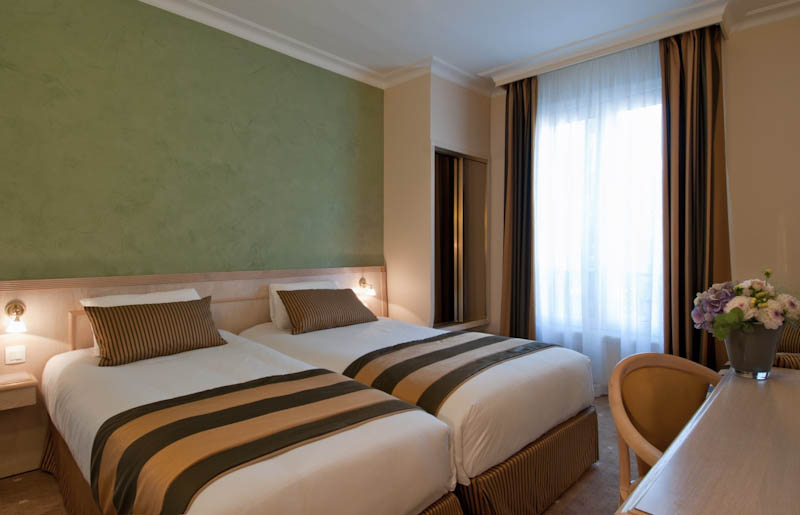 Chambre superieure Hotel Champerret Elysees