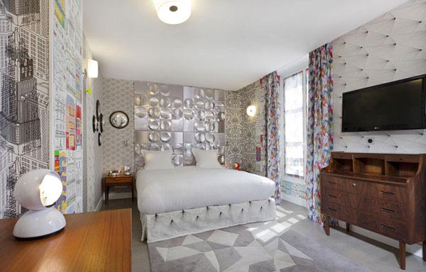 Junior suite Exquise esquisse hotel Le Crayon