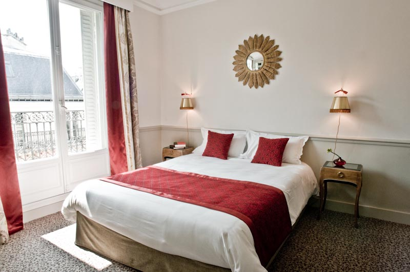 Chambre double Hotel Bradford Elysees