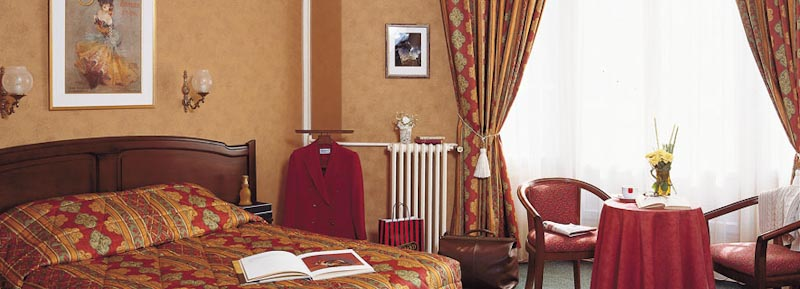 Chambre Hotel Royal Fromentin