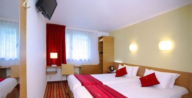 Hotel kyriad bercy village sur h tel paris for Prix chambre kyriad