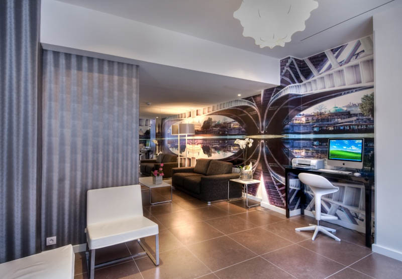 Hotel moderne saint germain sur h tel paris for Hotel moderne paris
