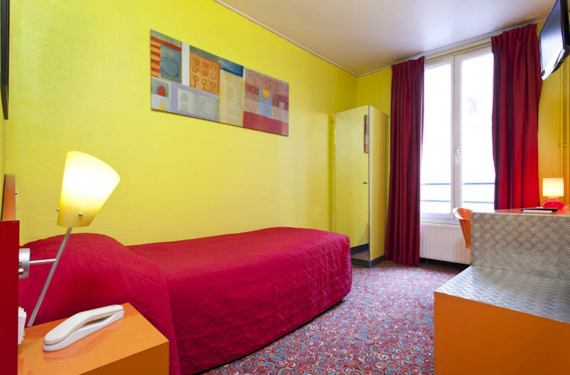 Chambre simple Hotel Beaumarchais