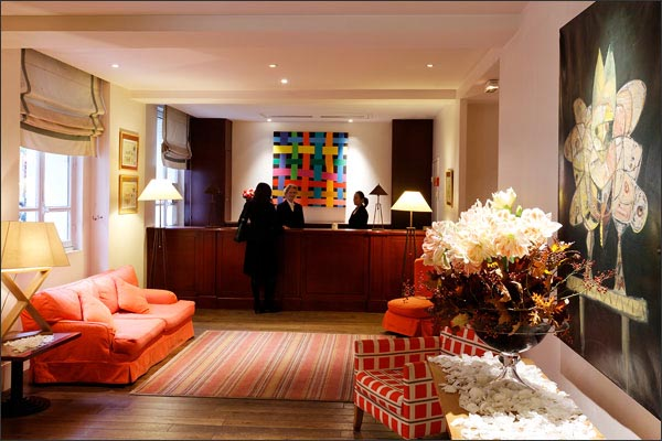 Reception Hotel La Manufacture