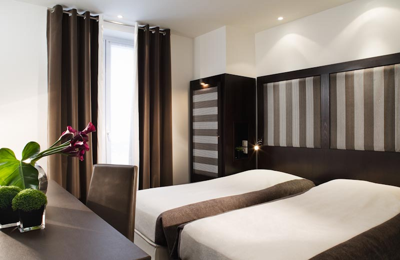 Chambre Hotel Courcelles Etoile