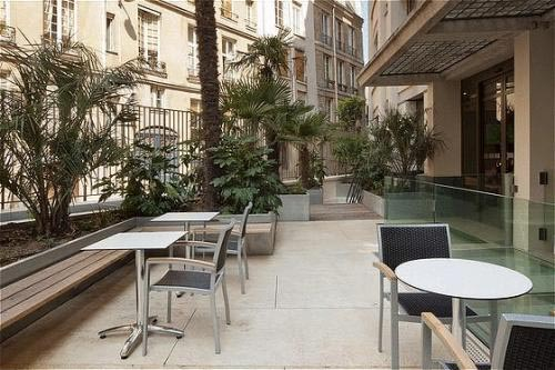 Terrasse Hotel Holiday Inn Notre Dame