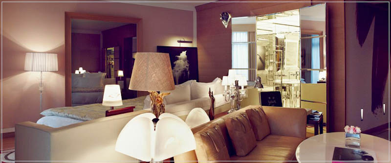 Junior Suite hotel Royal Monceau