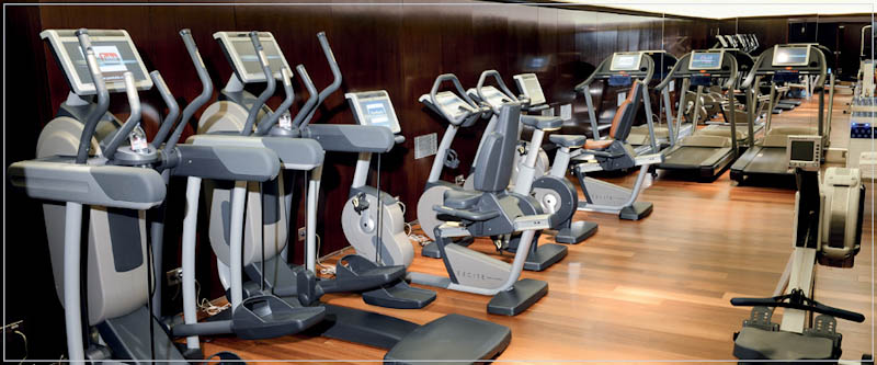Espace fitness hotel Royal Monceau