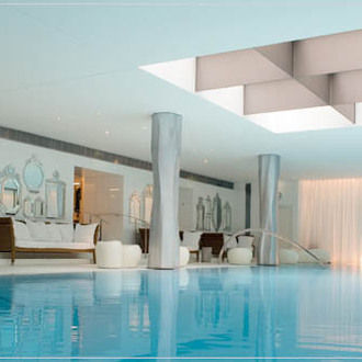 Piscine hotel Royal Monceau