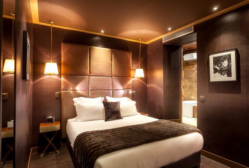 Hotel armoni paris 17e sur h tel paris for Chambre de luxe avec jacuzzi belgique