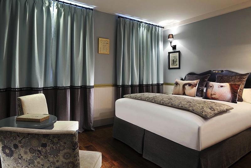 les plumes hotel sur h tel paris. Black Bedroom Furniture Sets. Home Design Ideas
