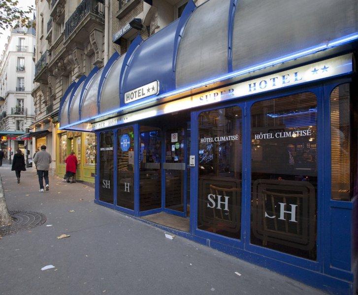 Super h tel sur h tel paris for Super hotel paris