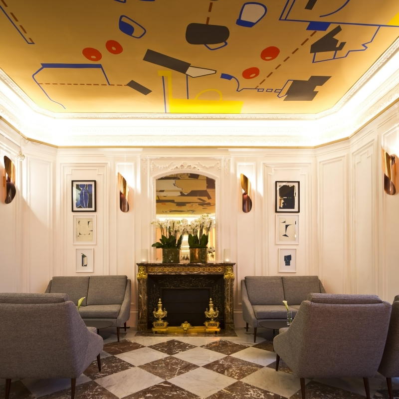 Hotel vernet sur h tel paris for Hotel design sur paris