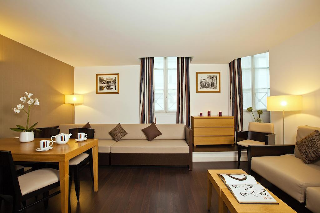 Residhome appart h tel paris op ra sur h tel paris for Appart hotel etranger