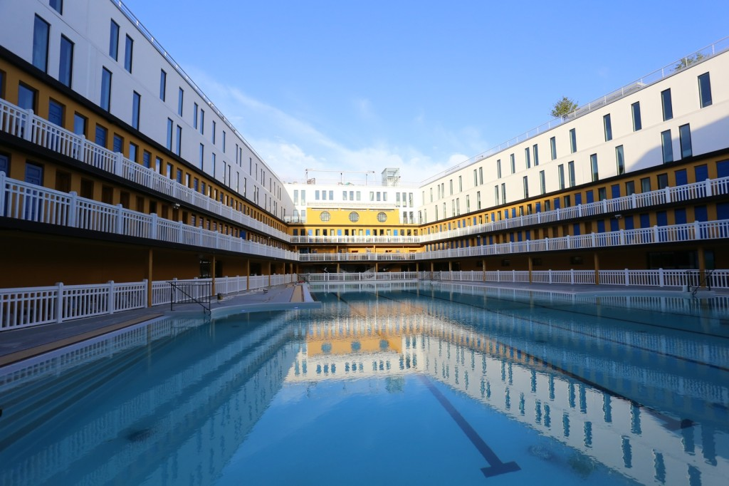 Mgallery molitor sur h tel paris for Piscine hotel paris