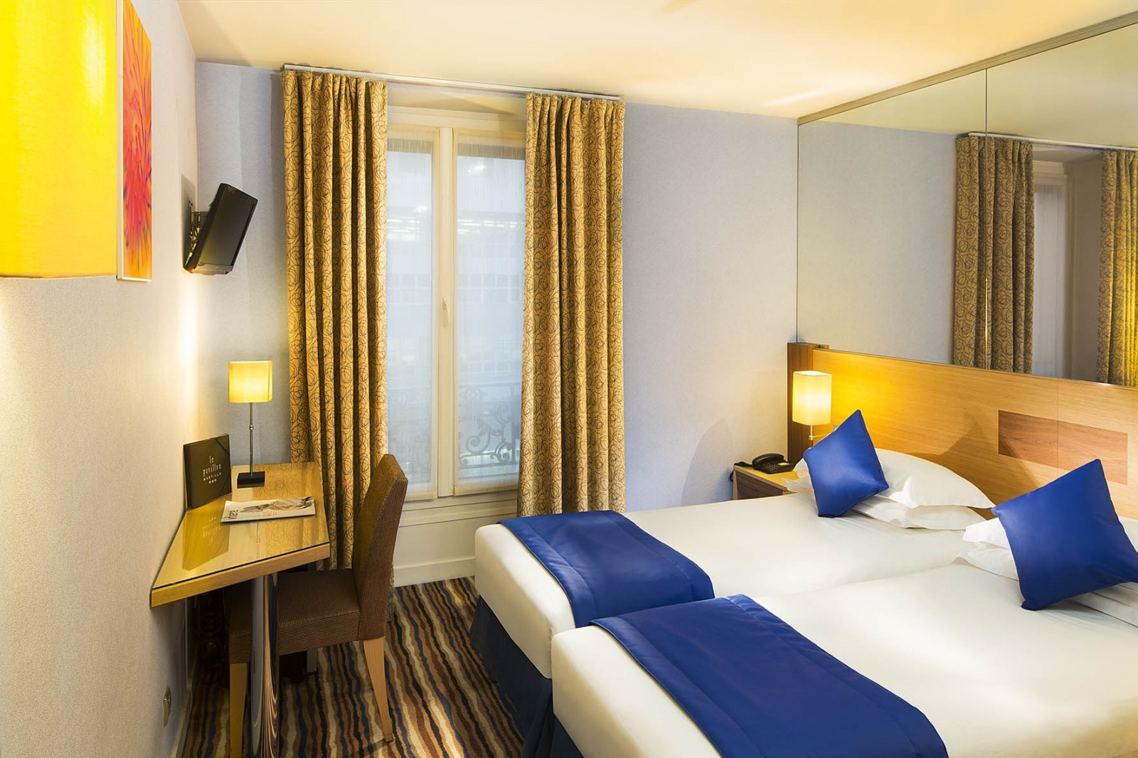 Hotel Pavillon Bastille Paris France