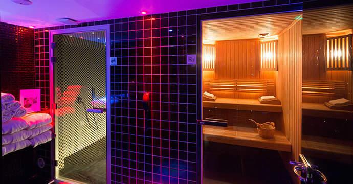 H tels paris avec spa for Hotel paris avec garage
