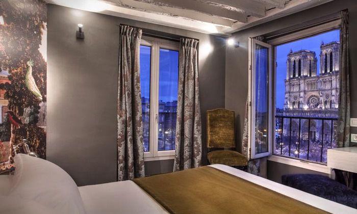 H tels paris proposant des chambres aux vues exceptionnelles for Adresse chambre des notaires de paris