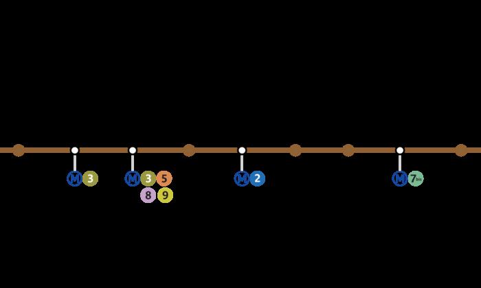 H tels sur la ligne 11 du m tro paris - Piscine des tourelles porte des lilas ...