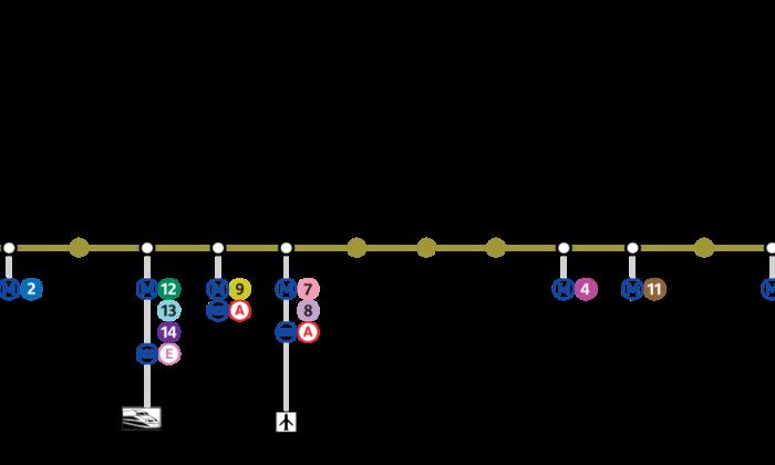 H 244 Tels Sur La Ligne 3 Du M 233 Tro 224 Paris