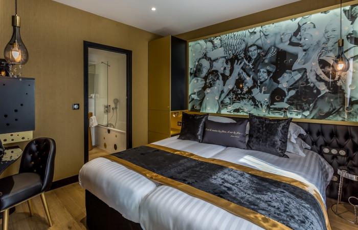 h tel les bulles de paris sur h tel paris. Black Bedroom Furniture Sets. Home Design Ideas