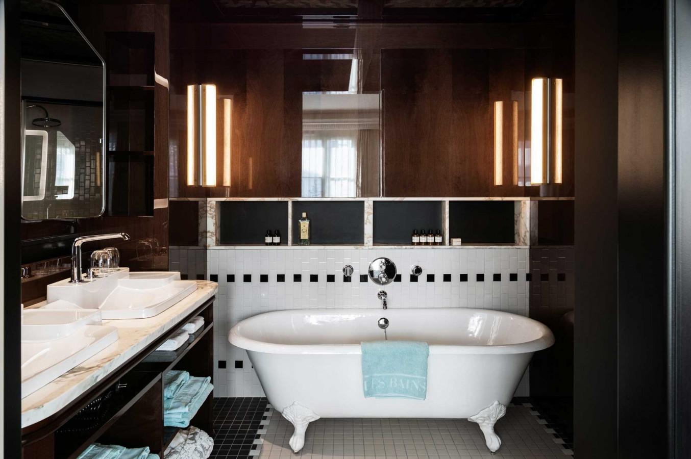 Bloc Ytong Pour Salle De Bain ~ les bains paris sur h tel paris