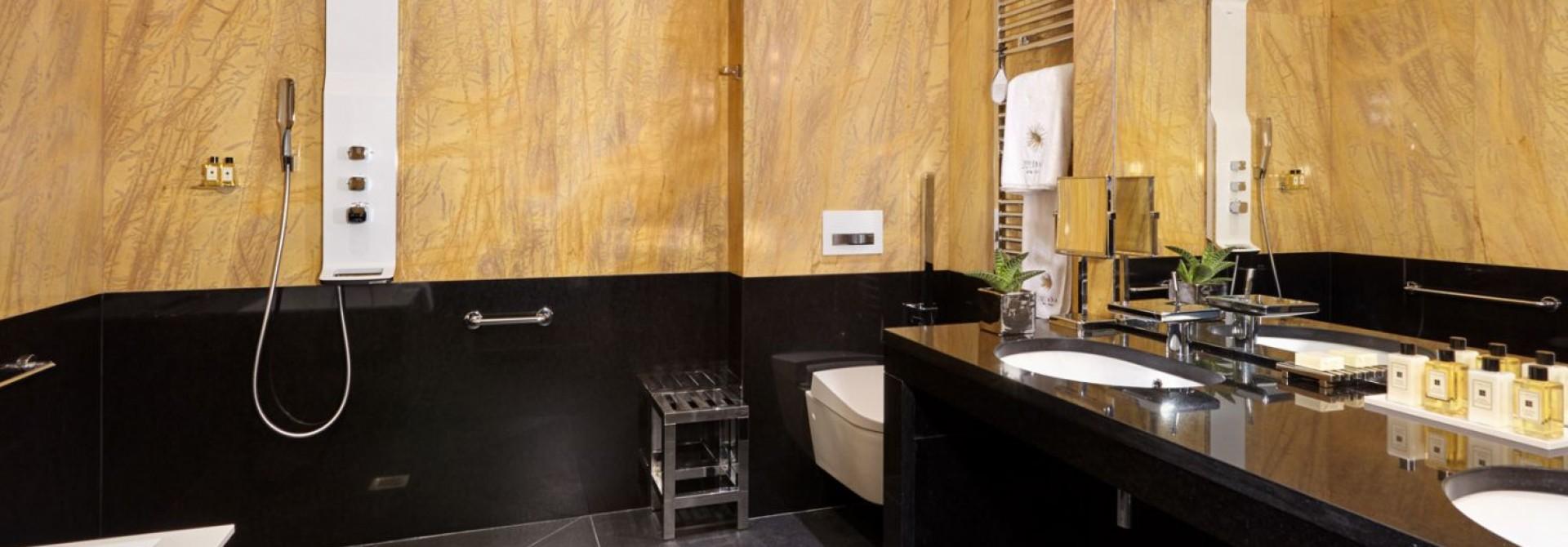 Hotel juliana paris sur h tel paris for Salle de bain hotel 5 etoiles