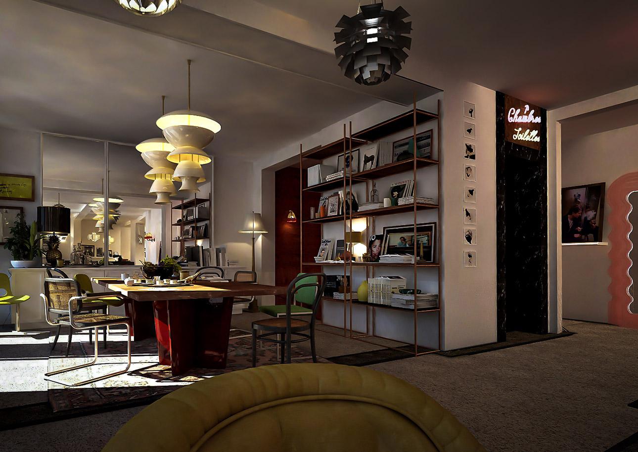 Le pigalle sur h tel paris for Hotel design sur paris