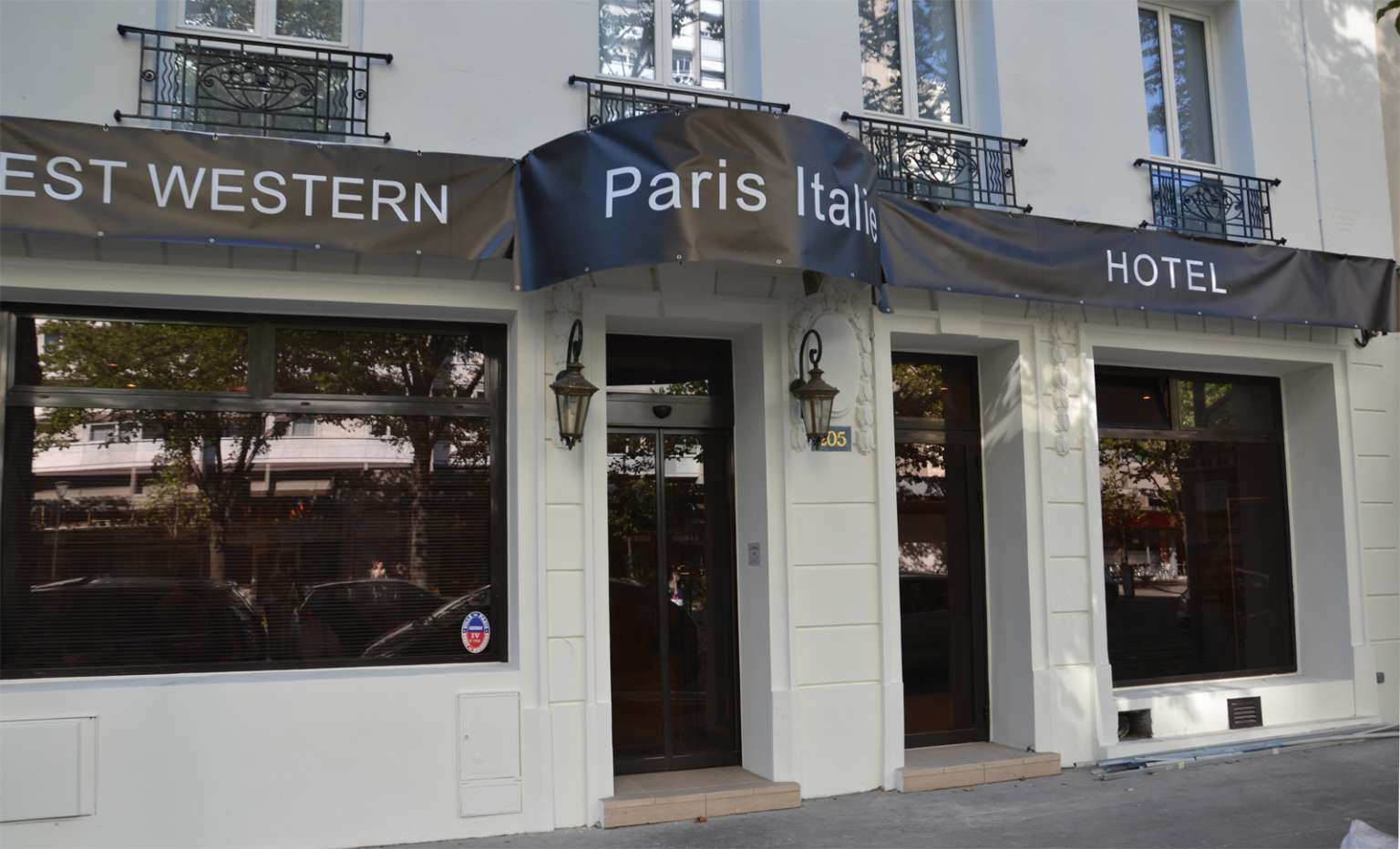 Best western paris italie sur h tel paris for Hotel best western paris