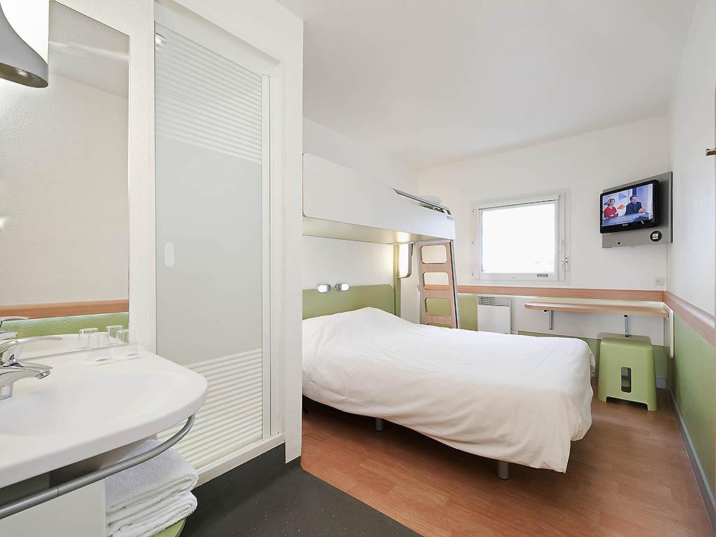 Ibis budget paris la villette 19 me sur h tel paris - Chambre hotel ibis budget ...