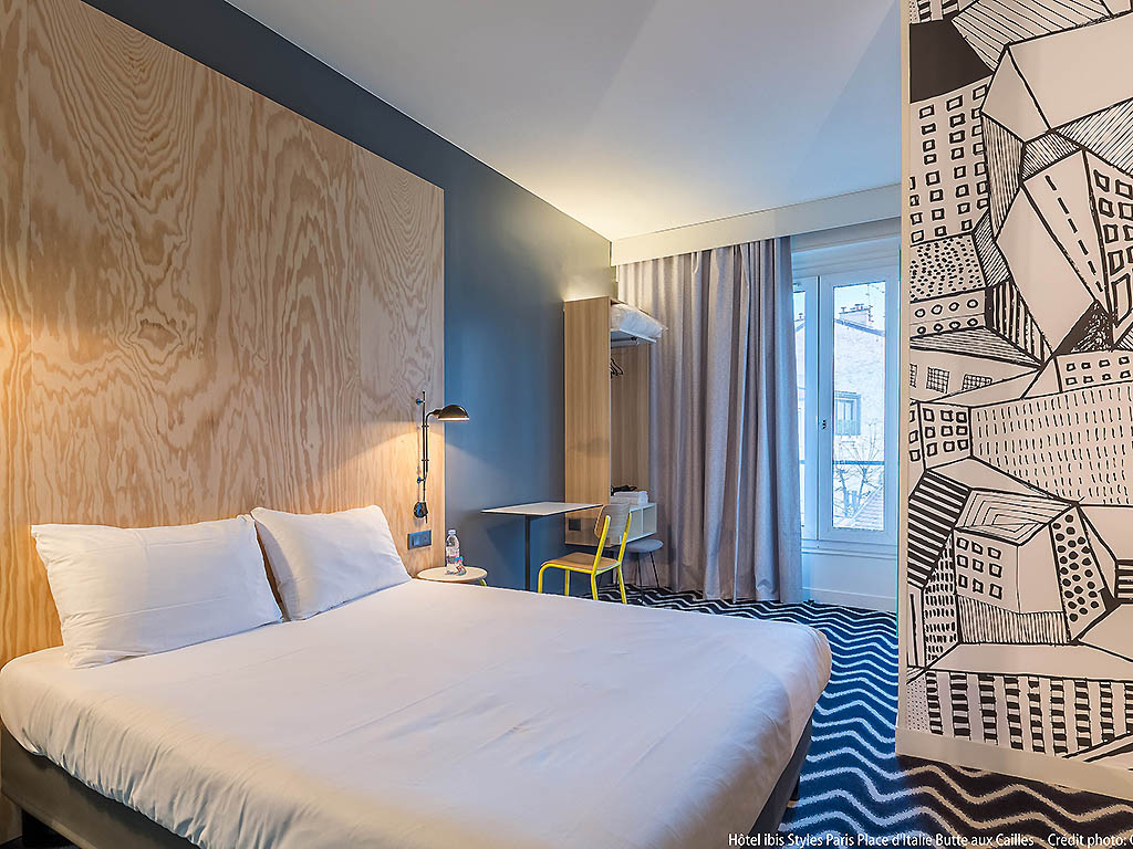 Ibis Styles Paris Place D Italie Butte Aux Cailles Sur Hotel A