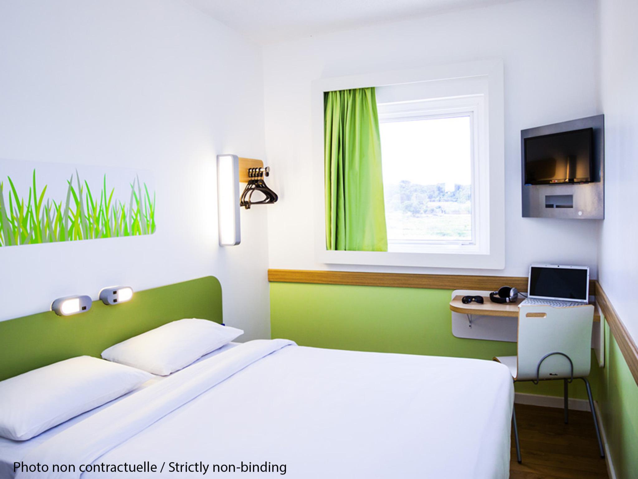 Ibis budget bobigny pantin sur h tel paris - Chambre hotel ibis budget ...