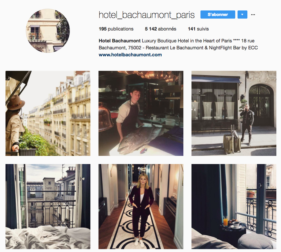 les plus beaux comptes instagram d 39 h tels parisiens le magazine. Black Bedroom Furniture Sets. Home Design Ideas