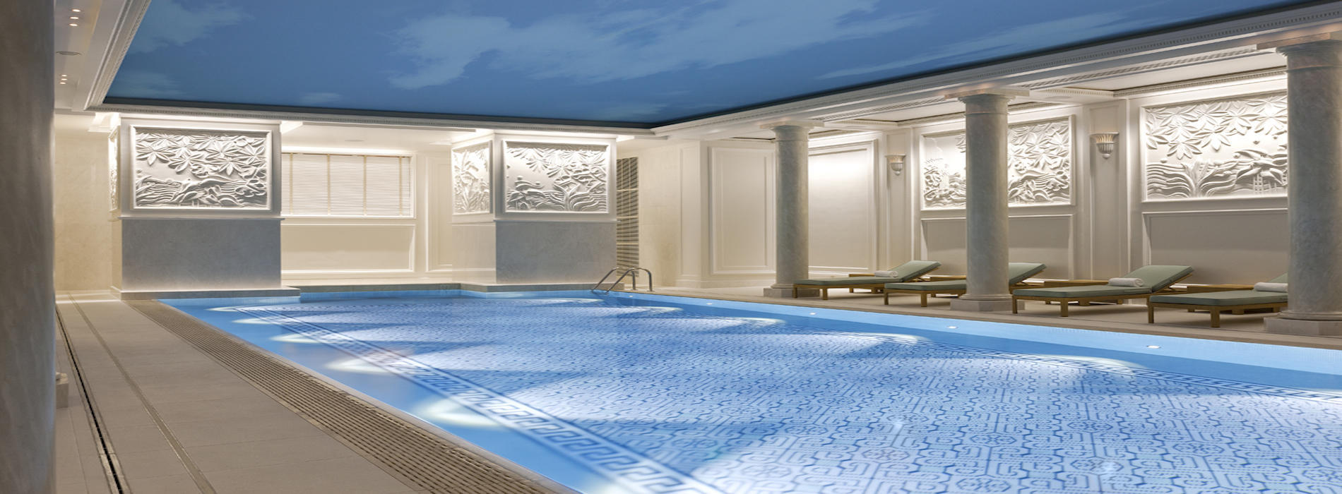 Les plus belles piscines d 39 h tels paris le magazine for Piscine hotel paris