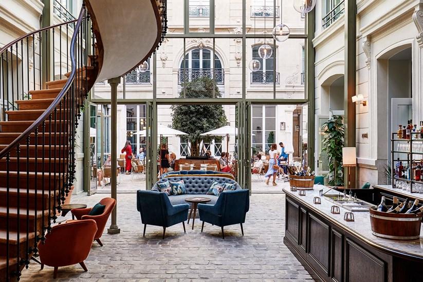 The hoxton paris l 39 h tel branch qui venait de londres le for Hotel branche a paris