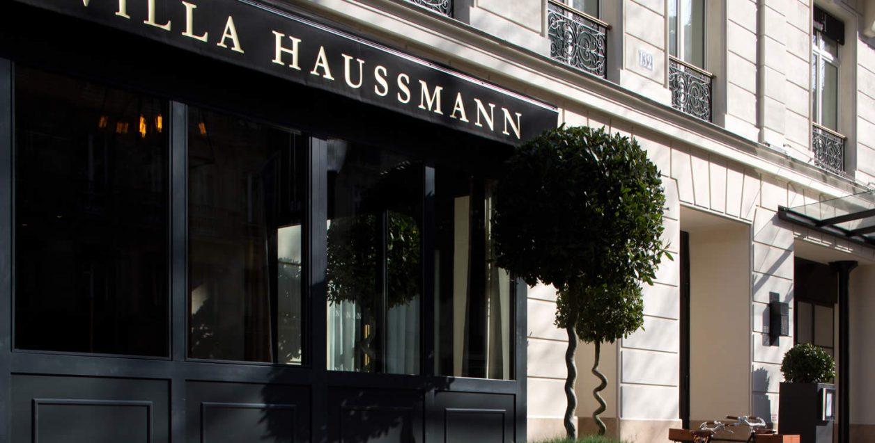 la villa haussmann sur h tel paris. Black Bedroom Furniture Sets. Home Design Ideas